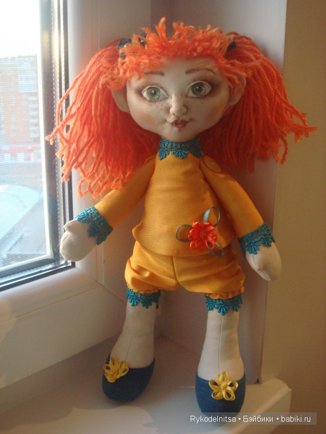 моя первая кукла. Текстильная кукла