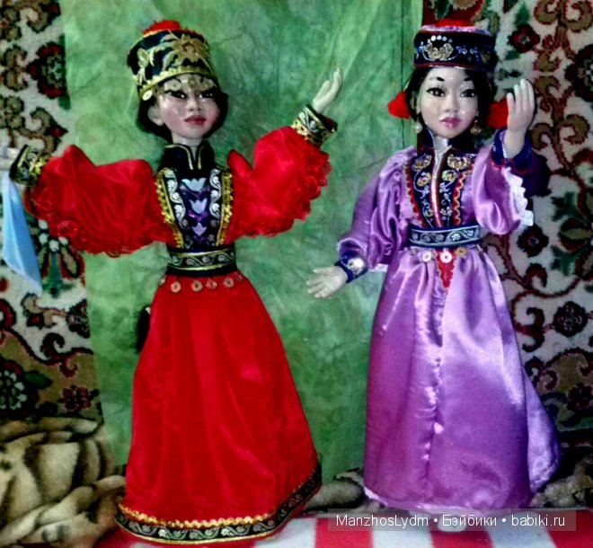 куклы Манжос Л.И