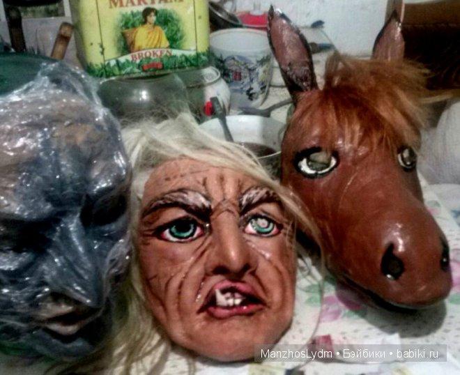 маски для новогоднего карнавала. Автор Манжос Л.И