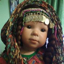 Новое тело для фарфоровой куклы. Новый образ