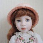 Фарфоровая кукла Crickett от Линды Мейсон (Linda Mason)