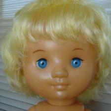 Редкая большая винтажная кукла СССР Сибигрушка Наташка - модница.