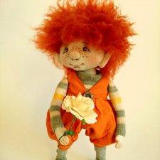 Мой первый эльфик, текстильная кукла