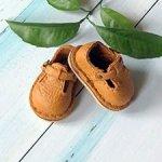Обувь для куклы Zwergnase 35 см, сандалии рыжие