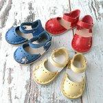 Обувь для кукол Minouche Petitcollin, босоножки для Минуш