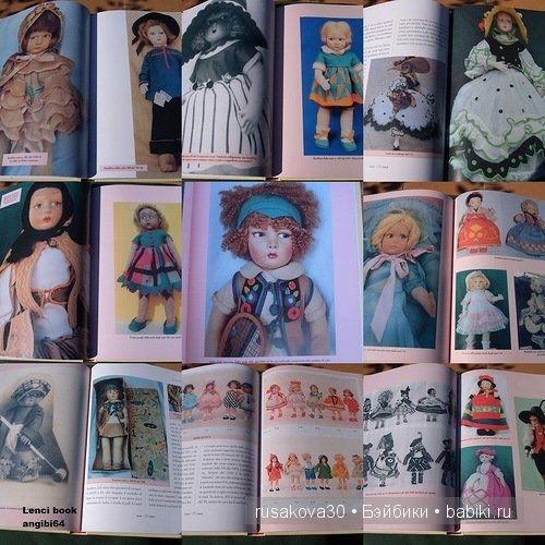 Войлочные куклы Lenci (Ленчи). Елена Кениг (Elena König)