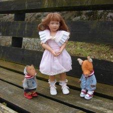 Куклы от Хелен Киш — Наннет