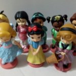 "Disney Animators Collection 3"" Mini Figure Princess Дисней мини аниматоры фигурки цена за 1 шт"