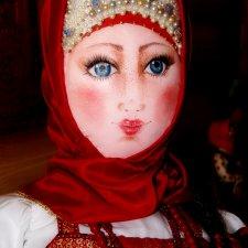 "Композиция ""Дуняша"". Кукла из ткани"