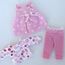Лот одежды для кукол 15-17 см