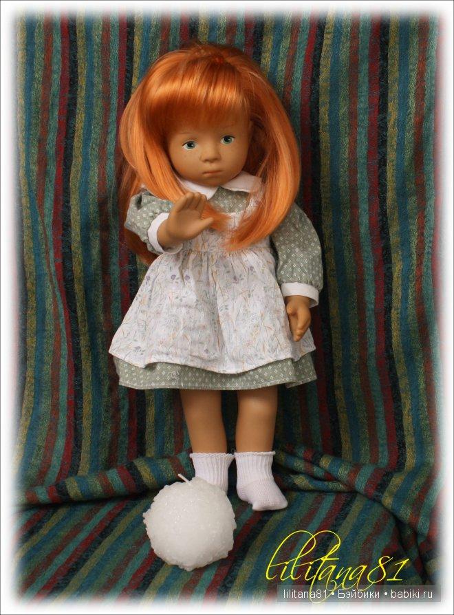 Малышка Sosette от Sylvia Natterer для Gotz 1991г.