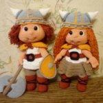 Парочка викингов