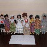 Полная коллекция кукол в костюмах народов мира