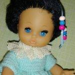 Малышка Бигги с редким цветом волос.