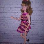 Брби Тереза на шарнирном теле.
