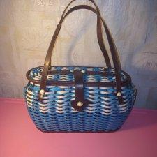 Винтажная сумочка-корзина.