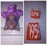 Голова Barbie BMR1959 Клодетт от Mattel и аутфит.
