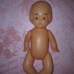 Редкая советская куколка-малышка Молдовская фабрика АСКИМ.