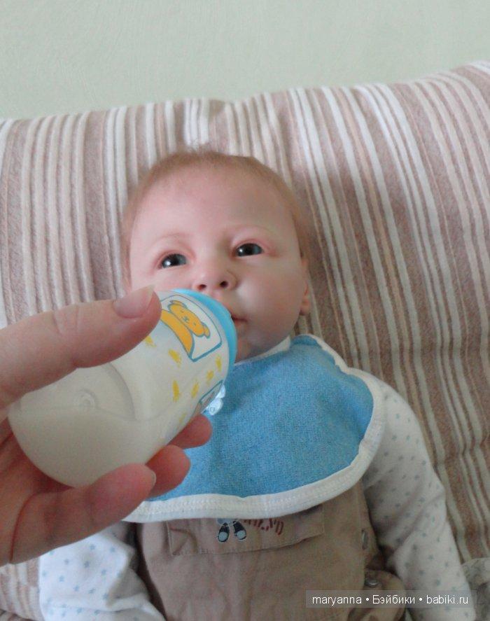 мы пьем молочко
