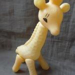 Игрушка СССР Жираф  Шуйская фабрика игрушек