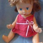 Кукла СССР Вика,55 см ,фабрика 8 марта