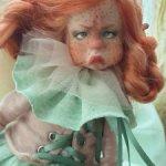 Продам авторскую куколку в смешаной технике