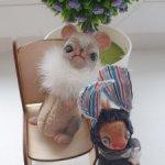 Продам авторского мыша и зайца