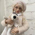 Продам девочку с мишкой Татьяны Катрушовой