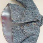 Продам джинсовое пальто на куколок 25-30 см