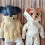 Продам двух авторских зверей одним лотос