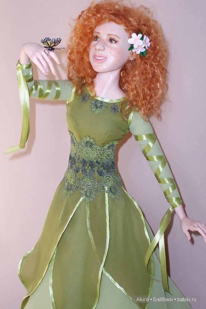 """""""Раз веснушка, два веснушка"""" Выполнена кукла из ливингдолла, волосы-мохер, роспись лица акрилом, размер-48 см."""
