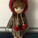 Кукла москвичка Мила  с гардеробом