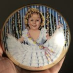 Музыкальная фарфоровая шкатулочка Ширли Темпл