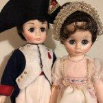 Пара! Винтажные редкие Наполеон и Жозефина от Madame Alexander