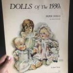 Антикварные куклы в бумажном варианте