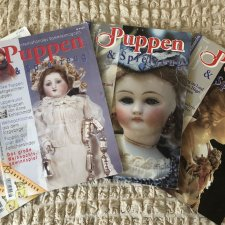 Лот из 4 журналов про кукол