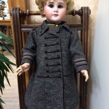 Пальто из кашемира на большую антикварочку