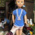 Большая паричковая кукла