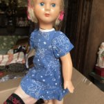 Очень редкая паричковая куколка
