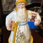 Дед Мороз из папье-маше, 60 е