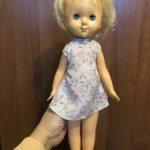 Куколка из раннего пластика