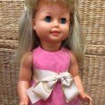 Кукла ФРГ, черепашка 60 х,с голосовым механизмом