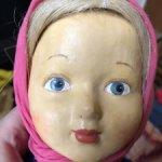 Необычная прессопилочная кукла