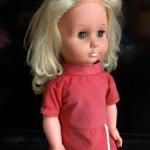 Кукла ГДР, платье родное