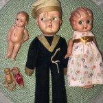 Лот целлулоидных кукол