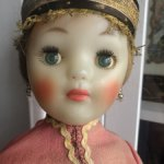 Кукла СССР в костюме губернии