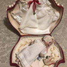 Малыш Себастиан Kestner, в шкатулке с гардеробом