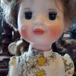 Кукла Люда Загорск, с этикеткой