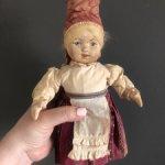 Артельная русская кукла Нева