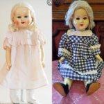 Большая опилочная кукла 8 Марта, без вмешательств